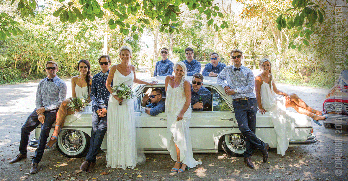 Rural, Bridal Party